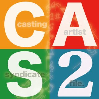 Casting Artist Syndicate:CAS file.2【通常盤】<img class='new_mark_img2' src='//img.shop-pro.jp/img/new/icons30.gif' style='border:none;display:inline;margin:0px;padding:0px;width:auto;' />