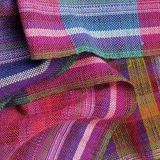 りょんしる君の手織りストール 2