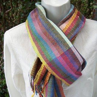 りょんしる君の手織りストール 3