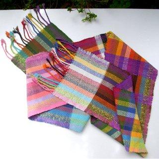りょんしる君の手織りストール 4