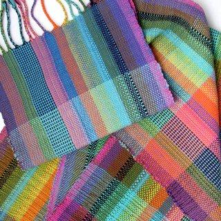 りょんしる君の手織りストール 5