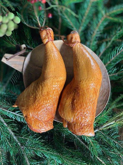 クリスマス 骨付きスモークチキン 数量限定