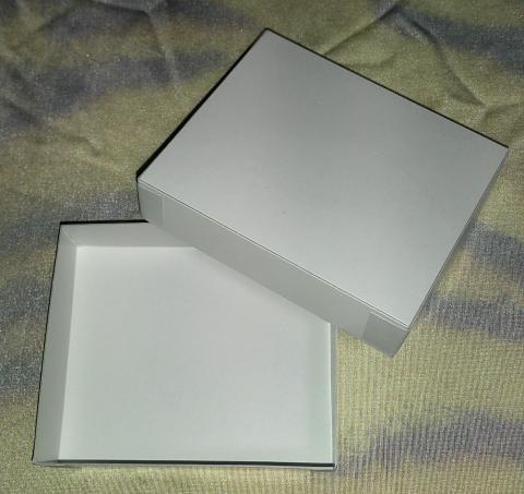 ようかん専用箱B 3個用 (フタ付き白箱)※箱のみ・包装なし