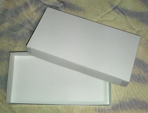 ようかん専用箱B 5個用 (フタ付き白箱)※箱のみ・包装なし