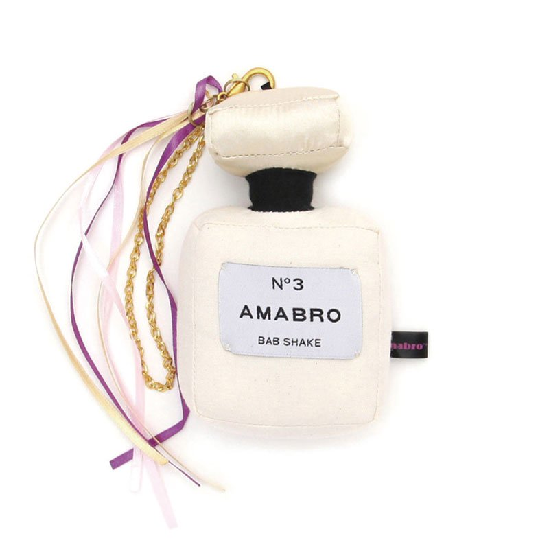 amabro BAB SHAKE - COLOGNE (WHITE)アマブロ バブシェイク コロン ホワイト【ガラガラ・ベビー・ギフト】