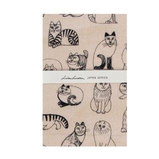 <img class='new_mark_img1' src='https://img.shop-pro.jp/img/new/icons58.gif' style='border:none;display:inline;margin:0px;padding:0px;width:auto;' />Lisa Larson - Sketch Tenugui Cats|リサ・ラーソン スケッチてぬぐい ネコたち 【てぬぐい・ネコ】