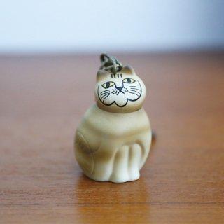 Lisa Larson Animal Keyholder -Mia Cat (BROWN)|リサ・ラーソン アニマルキーホルダー ネコ (MIA)・茶【北欧】
