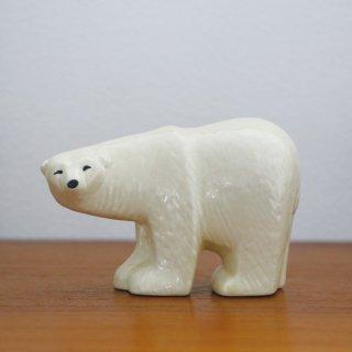 Lisa Larson - Polar bear mini|リサ・ラーソン ポーラーベア ミニ【北欧・置物・送料無料】