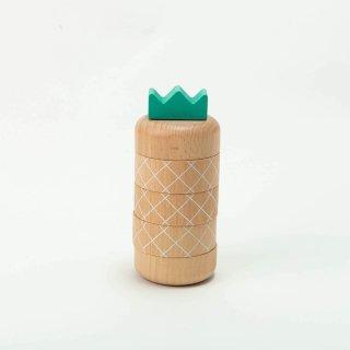 アロハパイナップル ナチュラル|kiko +(キコ) Aloha pineapple natural【木のおもちゃ・ギフト】