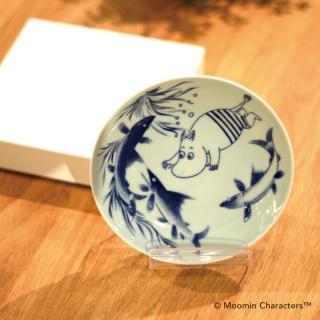 MOOMIN x amabro SOMETSUKE|ムーミン アマブロ ソメツケ-有田焼 和食器【4枚以上で送料無料】