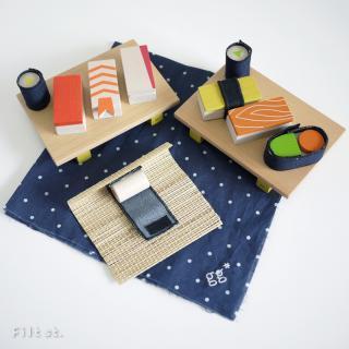 gg* sushi|ジジ* スシ【木のおもちゃ・おままごと・ギフト・送料無料】