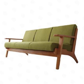 Lulea Sofa|北欧デザイン - 木肘 ソファ ルレオ【2P・3P 】玄関渡し送料無料