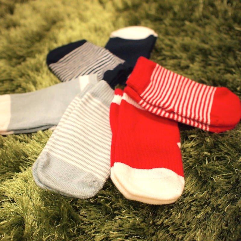 Etiquette Clothiers|エチケット クロージャース ベビーソックスギフトセット【CLASSIC SAILOR BUNDLE】