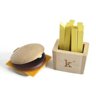 kiko+ hamburger set|キコ ハンバーガーセット【木のおもちゃ・ギフト】