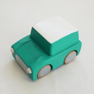 kiko+ kuruma - green |キコ クルマ - グリーン【 木のおもちゃ・ギフト・車】