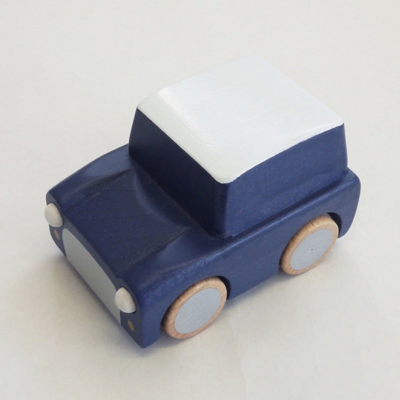 kiko+ kuruma / navy キコ クルマ / ネイビー【 木のおもちゃ・ギフト・車】