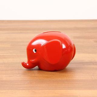 Norsu - Elephant Bank S|ノルス エレファントバンク / レッド【北欧・ノルウェー・貯金箱】