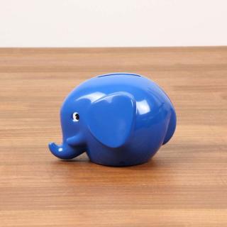 Norsu - Elephant Bank S|ノルス エレファントバンク / ブルー【北欧・ノルウェー・貯金箱】