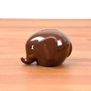 Norsu - Elephant Bank S|ノルス エレファントバンク / ブラウン【北欧・ノルウェー・貯金箱】
