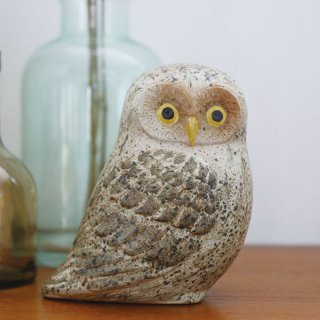 Lisa Larson - owl|リサ・ラーソン フクロウ【北欧・置物・送料無料】