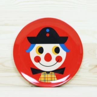 OMM-design melamine plate/Clown|メラミンプレート クラウン [Ingela P. Arrhenius(インゲラ・アリアニウス)]