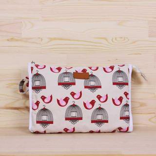 <img class='new_mark_img1' src='https://img.shop-pro.jp/img/new/icons20.gif' style='border:none;display:inline;margin:0px;padding:0px;width:auto;' />apple&bee-baby cosmetic bag|アップルアンドビー ベビーコスメバッグ 50%OFF【バード】