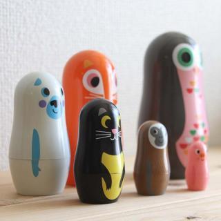 OMM-design マトリョーシカ|アニマル black cat [Ingela P. Arrhenius(インゲラ・アリアニウス)]
