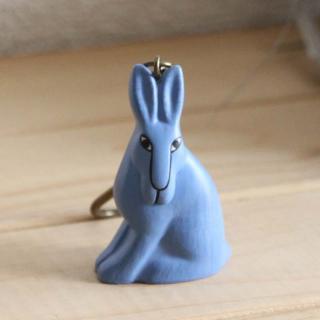 Lisa Larson Animal Keyholder -Rabbit|リサ・ラーソン アニマルキーホルダー ウサギ【北欧】