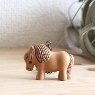 Lisa Larson Animal Keyholder -Pony|リサ・ラーソン アニマルキーホルダー ポニー【北欧】