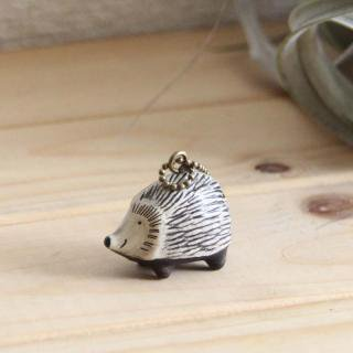 Lisa Larson Animal Keyholder -Hedgehog Iggy|リサ・ラーソン アニマルキーホルダー ハリネズミ イギー【北欧】