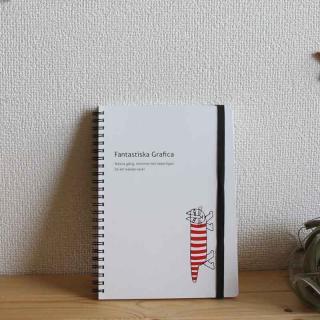 Lisa Larson Mikey Notebook - A5|リサ・ラーソン マイキー ノート A5【ステーショナリー・ノート】