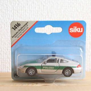 siku(ジク)1416|ポルシェ911ポリスカー【ドイツ・ミニカー】