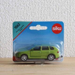 siku(ジク)1062|ポルシェカイエンターボ【ドイツ・ミニカー】