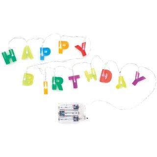 Birthday String Lights|バースデーストリングライト【KIKKERLAND(キッカーランド)・USA】
