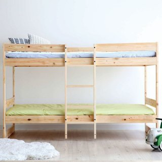 Homecoming ひのきの二段ベッド|組み立て式・国産