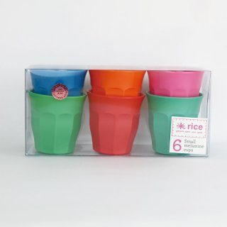 rice - Small Melamine cups /MELCU-6SSTXC|ライス メラミンカップ6個セット/STAR【北欧・デンマーク】