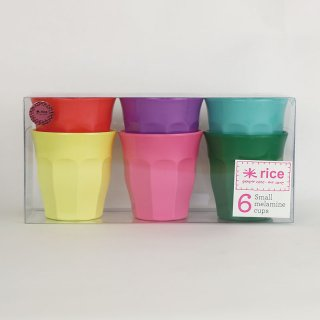 <img class='new_mark_img1' src='https://img.shop-pro.jp/img/new/icons21.gif' style='border:none;display:inline;margin:0px;padding:0px;width:auto;' />rice - Small Melamine cups /MELCU-6SCXC|ライス メラミンカップ6個セット【北欧・デンマーク】