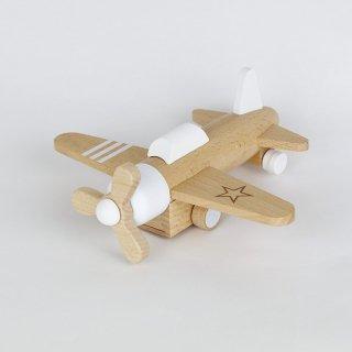 kiko+ hikoki-propeller white|キコ ヒコーキプロペラ ホワイト【木のおもちゃ・ギフト】