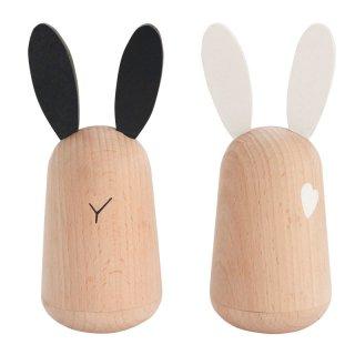 kiko+ usagi|キコ ウサギ【木のおもちゃ・ギフト・ご出産祝い】