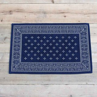 Cross Bandanna Rug