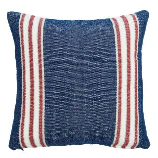 "Thick Cotton Cushion Cover ""Navy 45cm""|シックコットンクッションカバー"