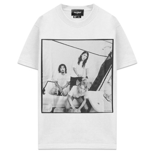 HALFMAN USA x NIRVANA / Nirvana Photogenic Tee