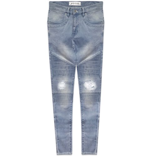ONEFOUREIGHT / Labish Biker Skinny Crush Denim