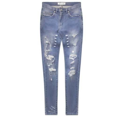 ONEFOUREIGHT / Destroyed Skinny Denim