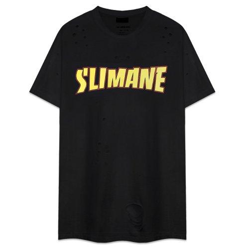 COMMONSENSE / Destroyed Slimane Tee