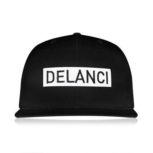 DELANCI / Logo 6 Panel Snapback Cap