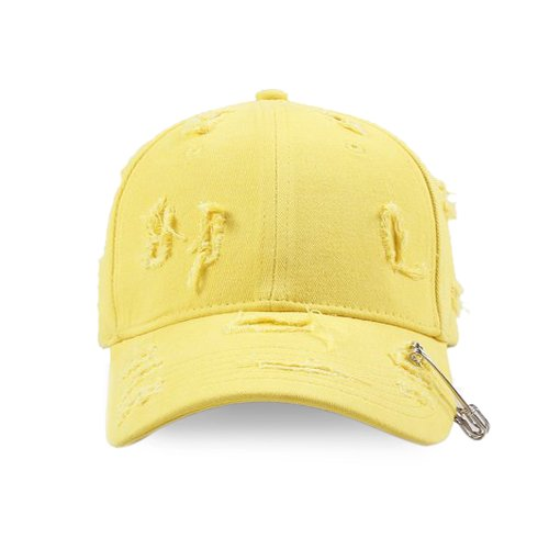 C2H4 LA  / Distressed Pin Baseball Hat