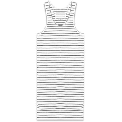ONEFOUREIGHT / Striped Long Tall Short Tank