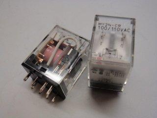 MY2N-CR AC100V *画像は形状確認用です。*