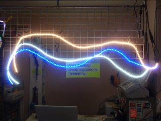 側面発光 LED 5m/m幅 IP67